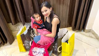 Hriday ki first shopping 😍
