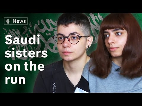 Saudi sisters on run from authorities – and father they say abused them