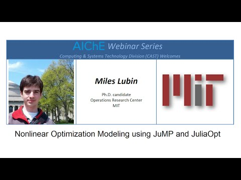 Nonlinear Optimization Modeling using JuMP and JuliaOpt