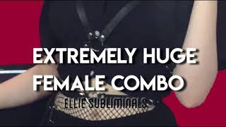 VERY powerful female combo   booster sub