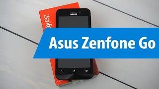 Распаковка Asus Zenfone Go ZB450KL / Unboxing Asus Zenfone Go ZB450KL