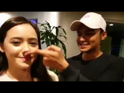 Suka betul Syafiq Kyle dapat cuit hidung Hannah Delisha