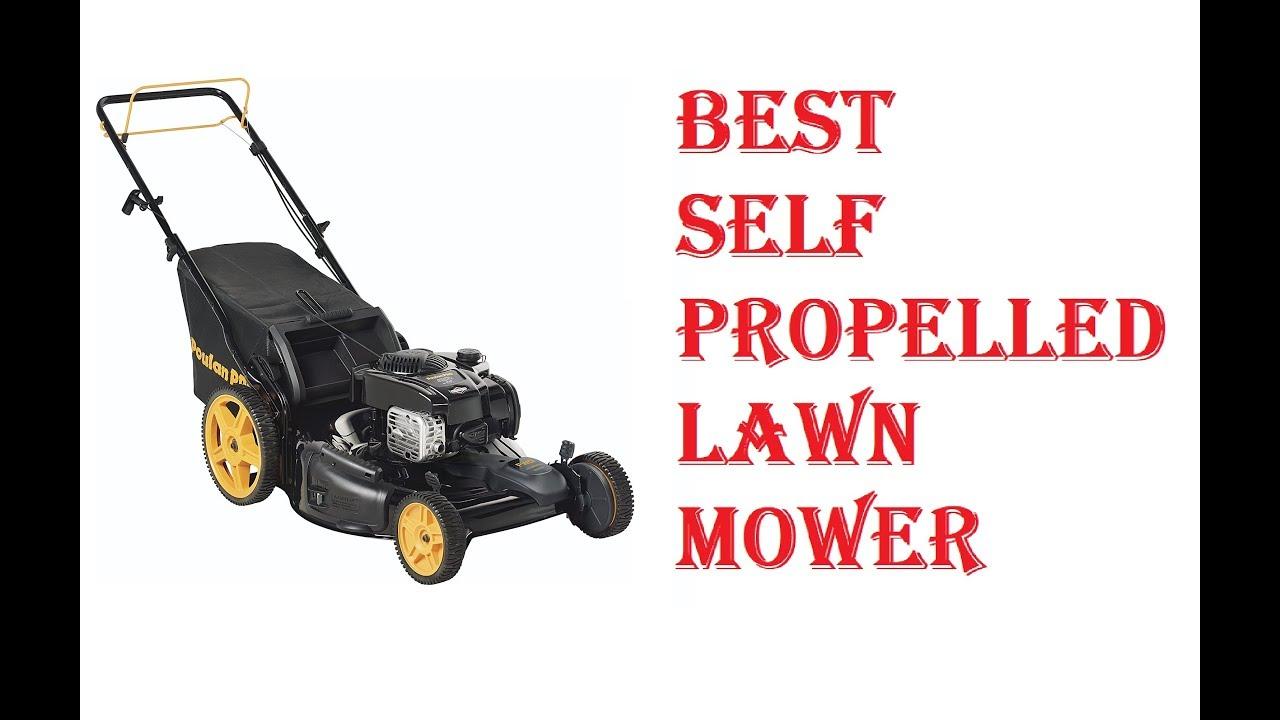 Best Self Propelled Lawn Mower 2019 Youtube