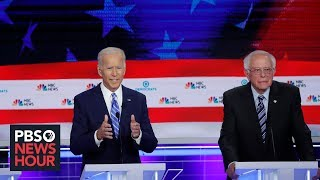 On the 2020 campaign trail, Biden and Sanders clash over health care plans