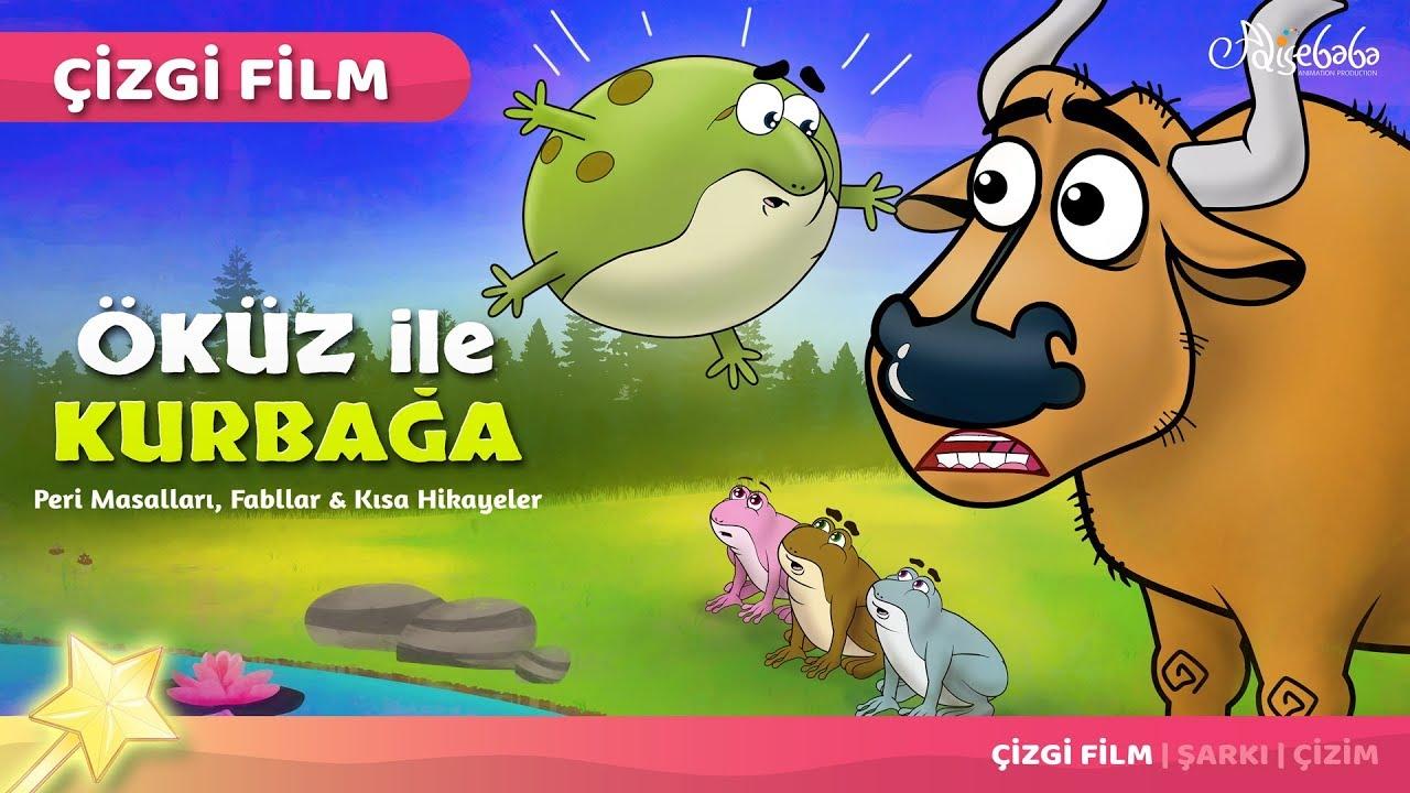 Adisebaba Çizgi Film Masallar - Bölüm 51: Öküz ile Kurbağa