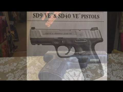 Smith & Wesson SD9VE barrel take down