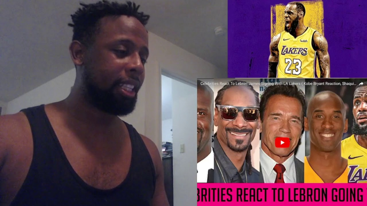 f3aea6937a2f9 More Celebs Reactions To LeBron James on the Los Angeles Lakers REACTION