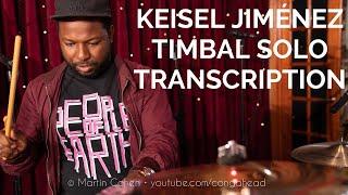 KEISEL JIMÉNEZ-Timbal Solo TRANSCRIPTION