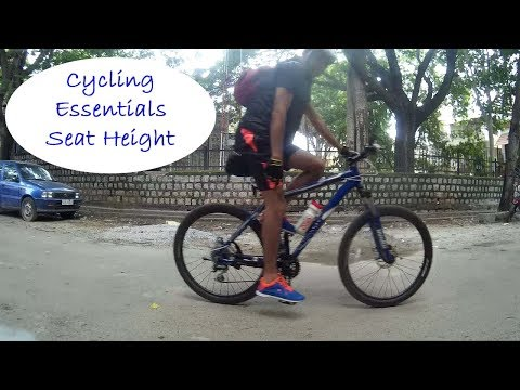 Cycling essentials | Seat Height | Ajsvlog | Indian cycling vlog