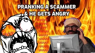 PRANKING a Microsoft SCAMMER - He Gets ANGRY! thumbnail
