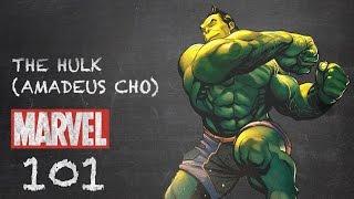 Orphaned Genius - Hulk (Amadeus Cho) - Marvel 101