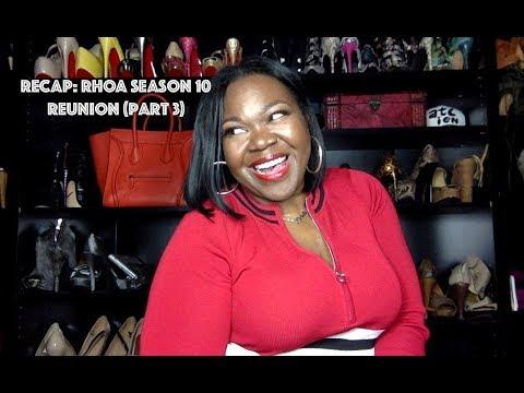 #RHOA Recap: Season 10 Ep 21 Reunion Part 3:  (Bye Wig!) Kim & Sheree Got Dragged!!!