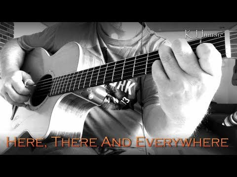 Here There And Everywhere The Beatles Fingerstyle Guitar With