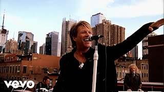 bon jovi we werent born to follow