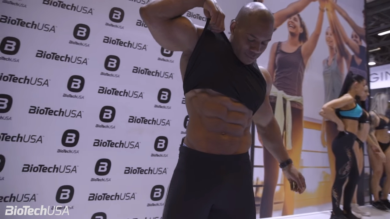 Salon body fitness 2017 sunday march 19th biotechusa for Salon biotech