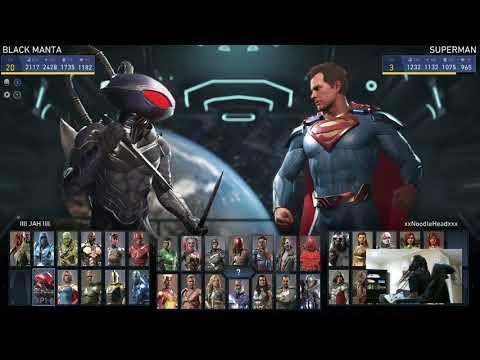 Injustice 2 - Black Manta Mixing - Ranked Sets