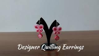 DIY | Designer Quilling Earrings | Exotic & Fancy Earrings