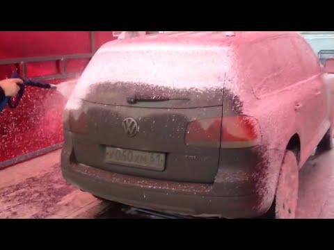 Мойка самообслуживания Пена, горячая вода, тефлон, осмос за 150 рублей / Car wash self service