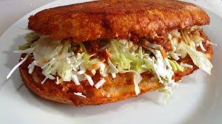 Recetas de comida mexicana, Como hacer PAMBAZOS, receta # 112 , comida mexicana