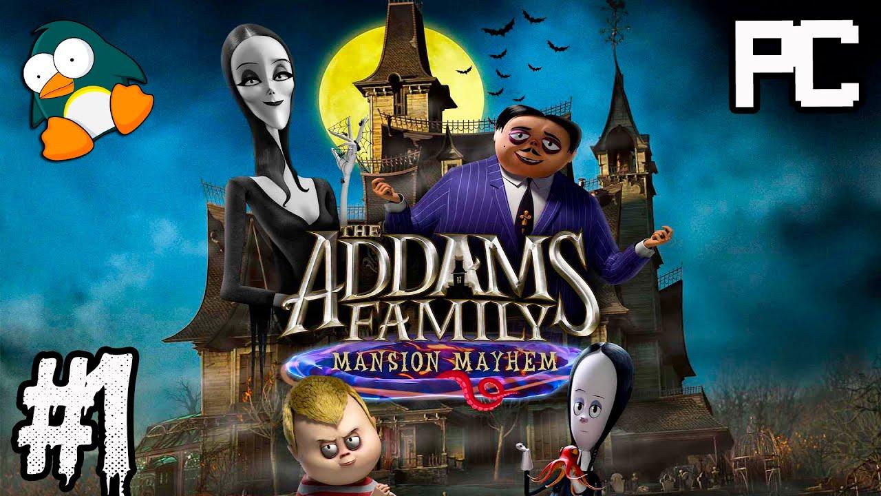 A Família Addams Mansão da Confusão em Português - Jogos de Desenho Animado para Halloween PC #1