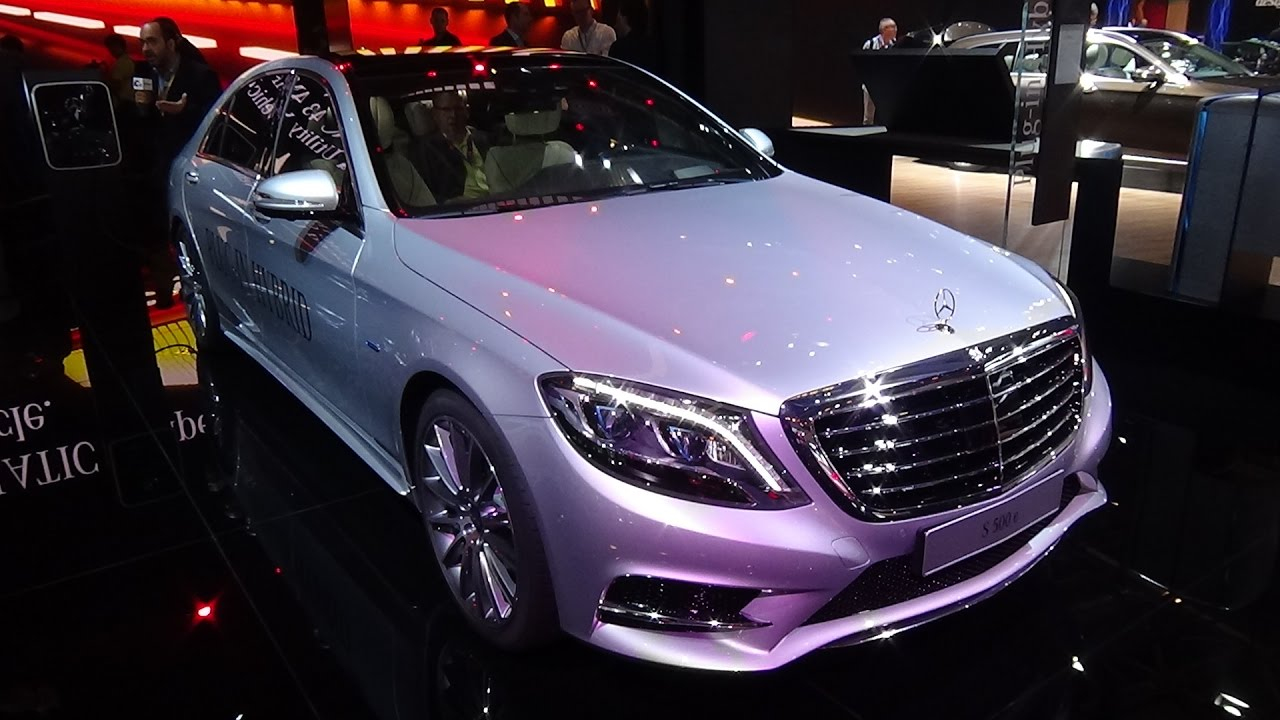 2017 Mercedes Benz S 500 E Limousine Exterior And Interior Paris Auto Show 2016