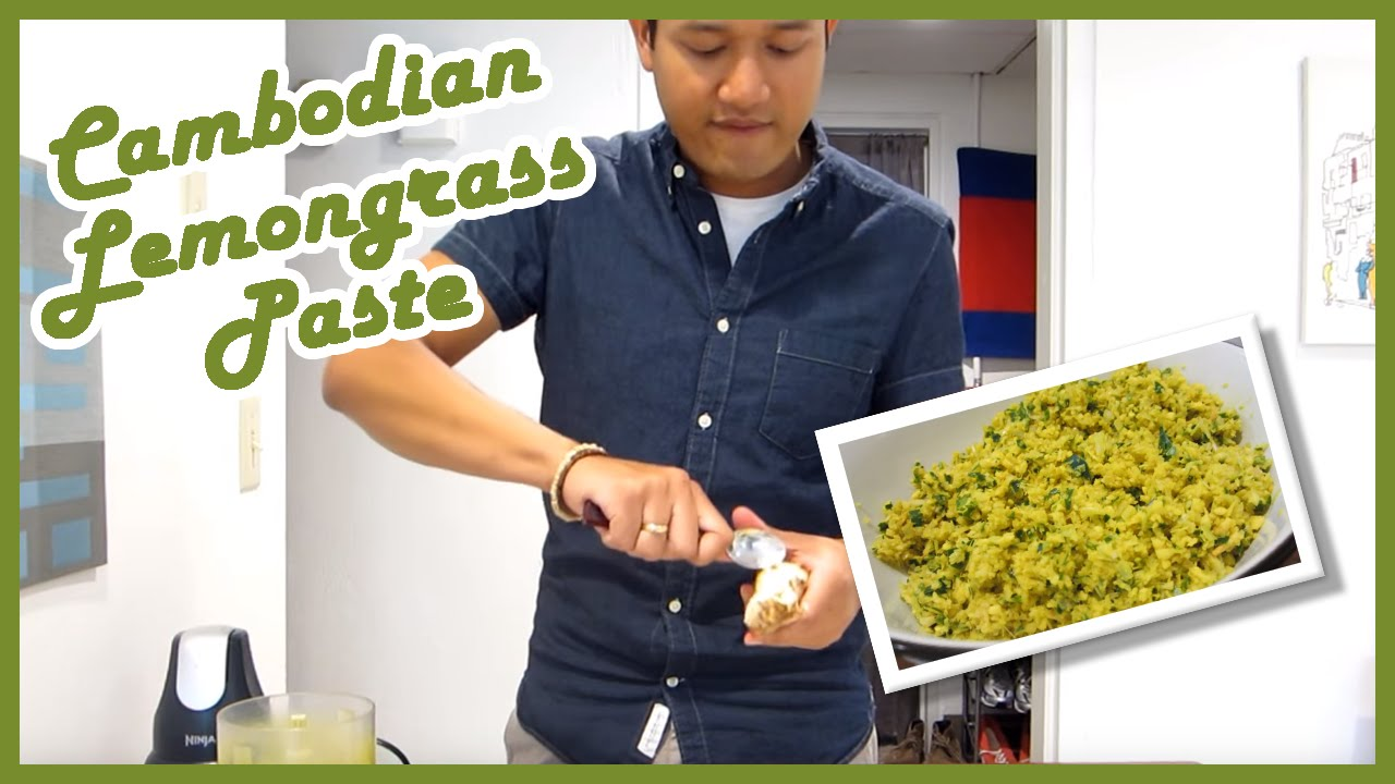 how to prepare lemongrass paste