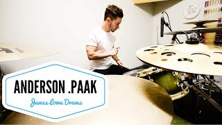 drum cover   come down   anderson paak