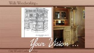 Wolfe Woodworking Dream Kitchen Scottsdale
