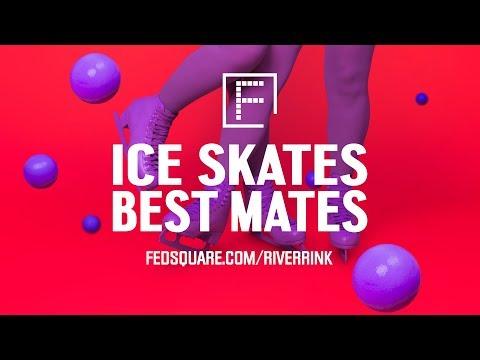 ICE SKATES BEST MATES