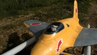 Ki-200 à moteur-fusée, le Me-163 Komet japonais