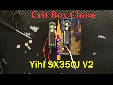 Crit Box Clone Yihi SX350J V2 Upgrade FULL TUTORIAL HD 60fps