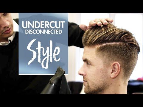 Disconnected Undercut ★ Men's hair & styling Inspiration ★ 4k hairstyle