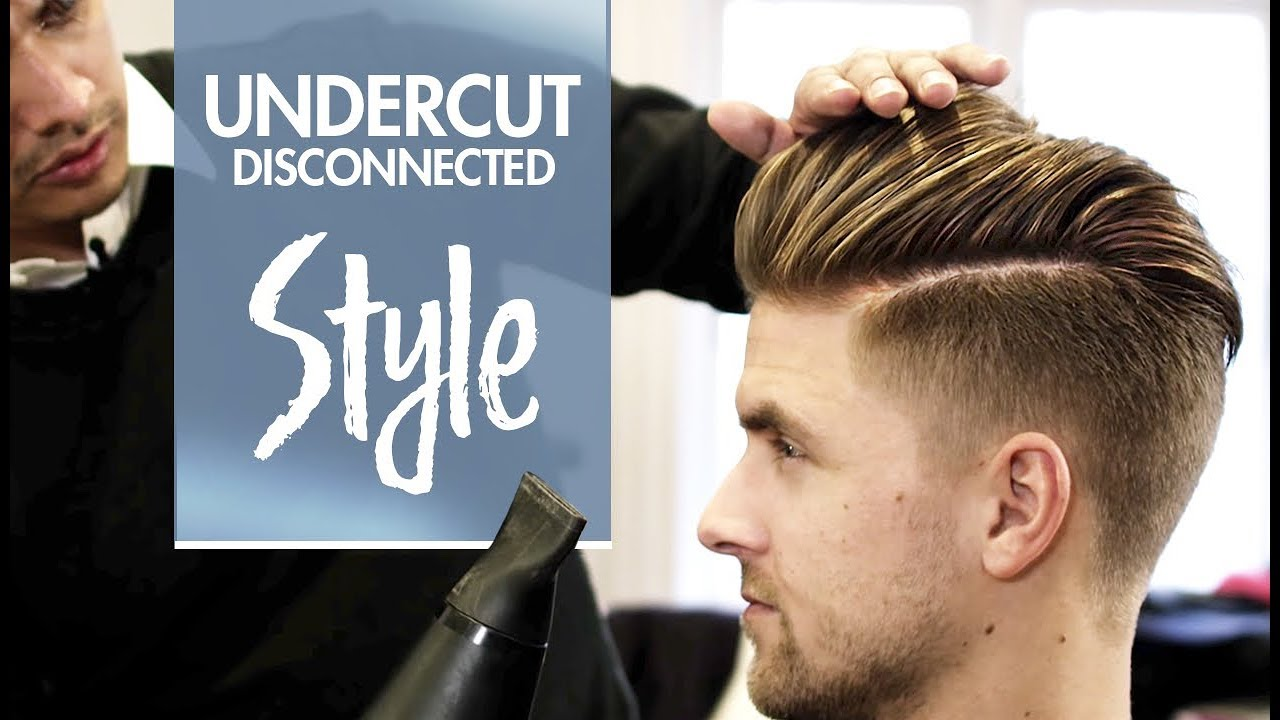Disconnected Undercut  Mens hair  styling Inspiration