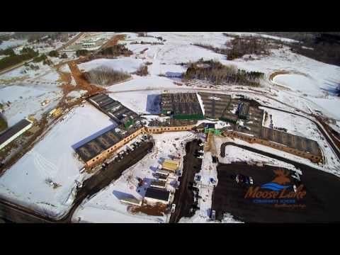 New Moose Lake Community School Video Tour 1/20/17