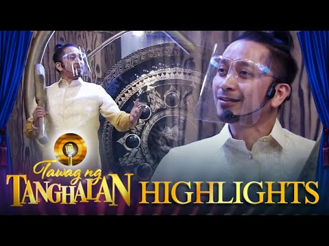 Jhong expresses how much he missed his role as gong master   Tawag ng Tanghalan