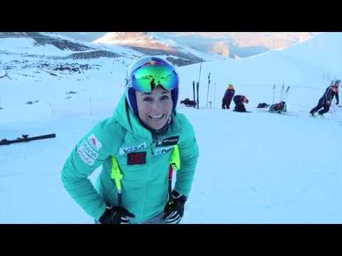 Lindsey Vonn Pre-Season Training Camp | Portillo Chile