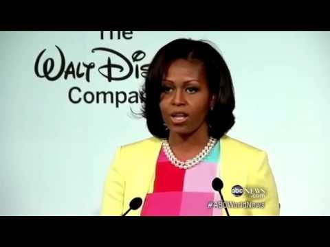 4 Michelle Obama, Disney on Cutting Junk Food Ads