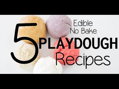 Five Edible Playdough Recipes | Alison From Millennial Moms