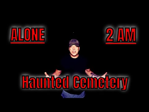 "(30 Minute ALONE Challenge) 2AM At ""THE HAUNTED MAUSOLEUM"""