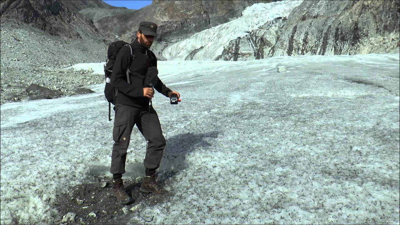 Albedomåling på Gletsjer i Grønland
