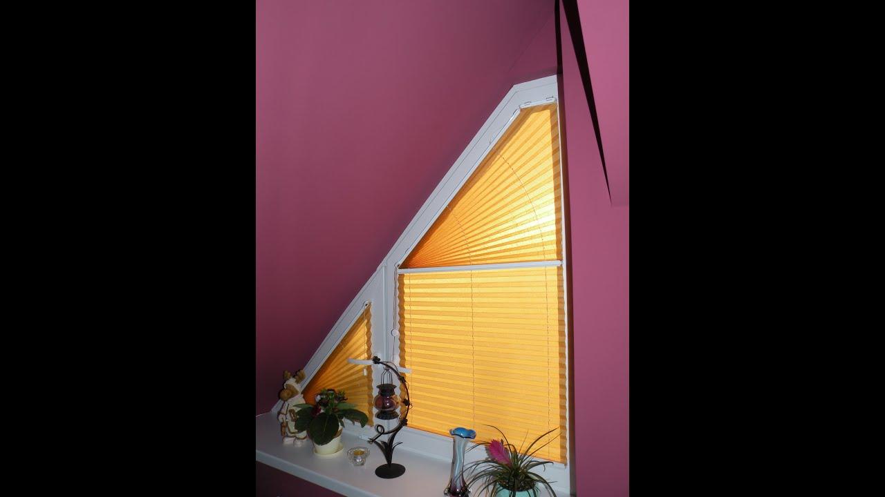 Beste Von Gardine Dreiecksfenster Design