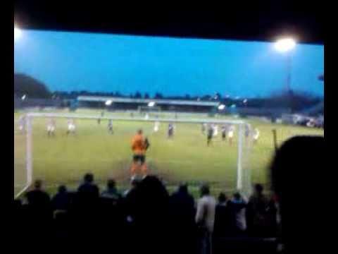 warren-byerley-penalty---weymouth-vs-evesham-united---11th-december-2010