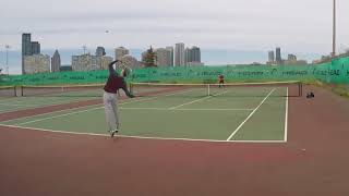 5/12/18 Tennis - Match Highlights and Practice Rallies