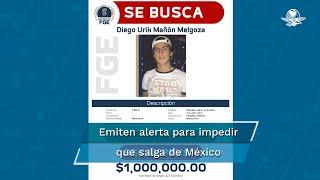 El Instituto Nacional de Migración informó que ya colabora con la Fiscalía General de Michoacán y con la Interpol para evitar la posible salida de México de Diego