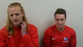reaction jt wood gunner gilland university of sheffield v i2i international soccer academy ysj