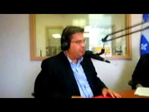 Montreal Mayor on Radio Shalom 1650AM ; Denis Codere