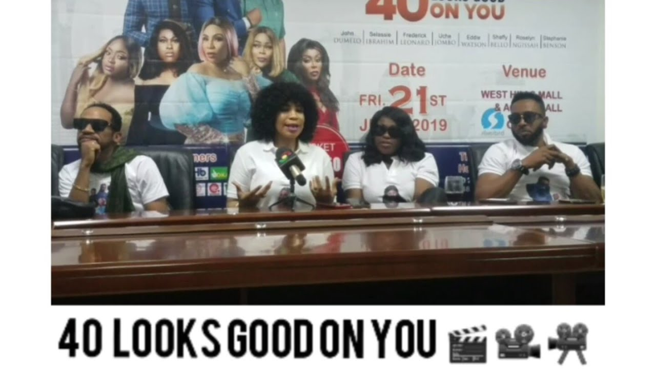 Download LIVE: Press Conference Of The Movie🎬🎥📽 40 Looks Good On You