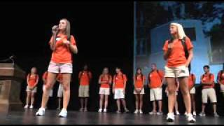 Clemson University 2010 Orientation Ambassador Introductions