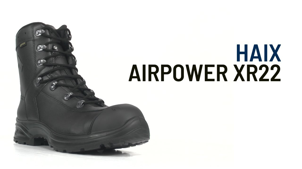 384929d829a HAIX GORE-TEX Airpower XR22 by SafetyBootsUK