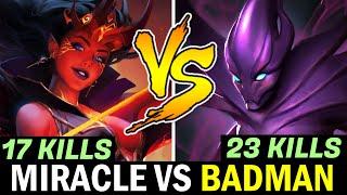 MIRACLE QOP vs BADMAN Signature Hero Spectre — Who's the Boss